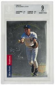 Derek-Jeter-Yankees-1993-Upper-Deck-SP-Foil-279-Rookie-Card-BGS-MINT-9
