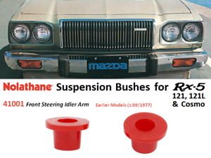 Rx5-121-121L-Cosmo-Suspension-Bushings-Nolathane-41001-Front-Idler-Arm