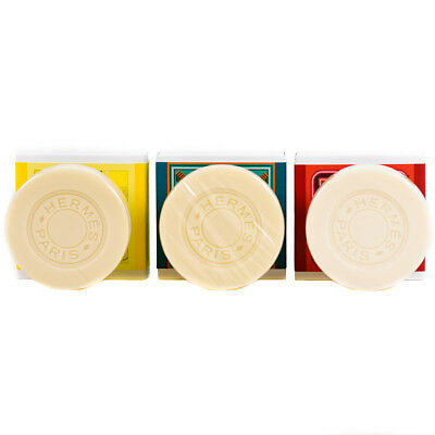 Hermes Soaps x3 Colognes Collection Perfumed
