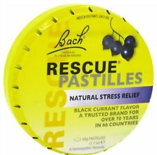 Bach Flower Remedy Rescue Pastilles Blackcurrant