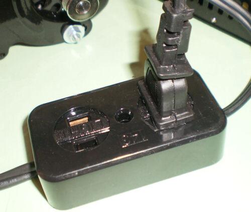 SEWING MACHINE POWER 1.5AMP MOTOR /& PEDAL L BRACKET MOTOR BLOCK FC143