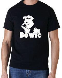 David Bowie Rock Pop Music T-Shirt