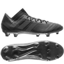 huge discount e835a bef38 adidas Nemeziz 17.3 FG 2018 Soccer Shoes Cleats Blackout Pure Black Brand  New