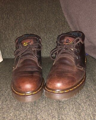 Dr. Martens 3989 Brogue Shoe Uomo Gaucho Crazy Horse a