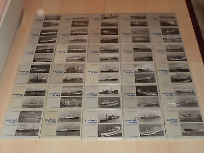 Die komplette Schiffahrt im Bild Hauschild Bremen Sammlung 30 Hardcover Bände!