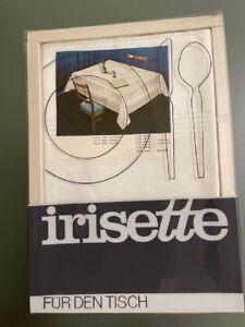 Damast Tischdecke von irisette, mercerisierte Baumwolle