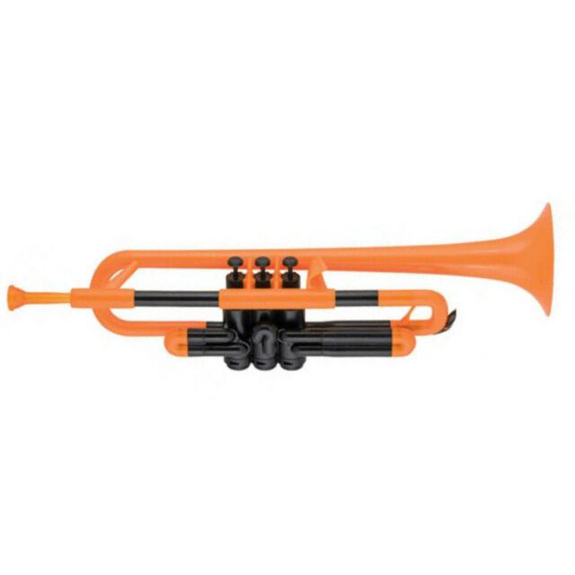 pTrumpet Plastic Bb Trumpet in Orange BRAND NEW