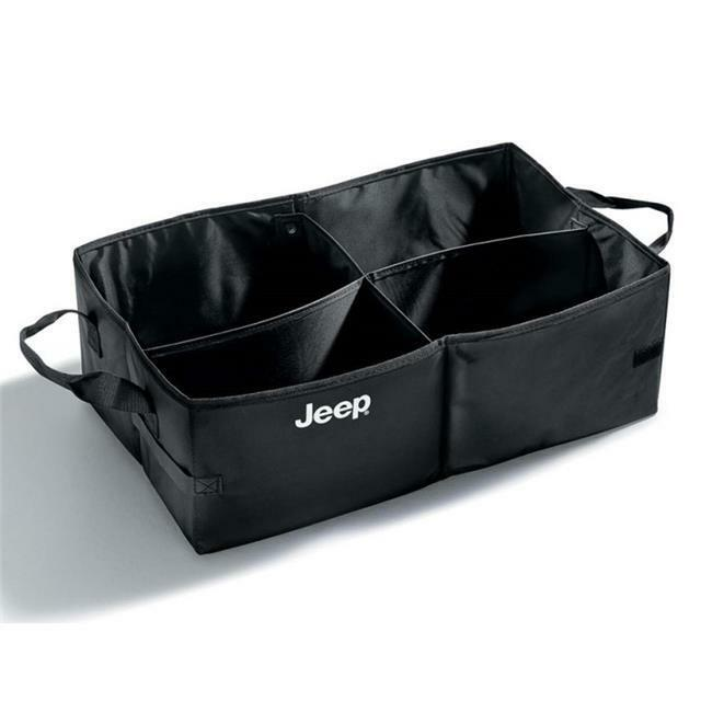 Jeep Boot Storage Box Organiser Boot Tidy Black New Genuine K82208566