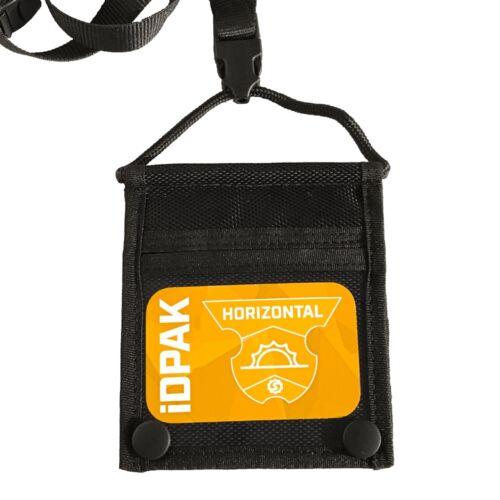ID PAK by Shat-Tech inc Horizontal ID Badge Holder with Lanyard