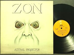 Zon Astral Projector Epic Pec 90442 Original Lp Vinyl