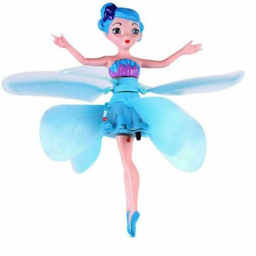 FATA che vola per Bambini Giocattolo Bambole Principessa MAGIA DI CONTROLLO AD INDUZIONE A RAGGI INFRAROSSI REGALO DI NATALE