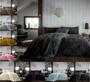 Luxuries-Abbraccio-amp-accogliente-soffice-orsacchiotto-in-pile-Copripiumino-FEDERA-caldo