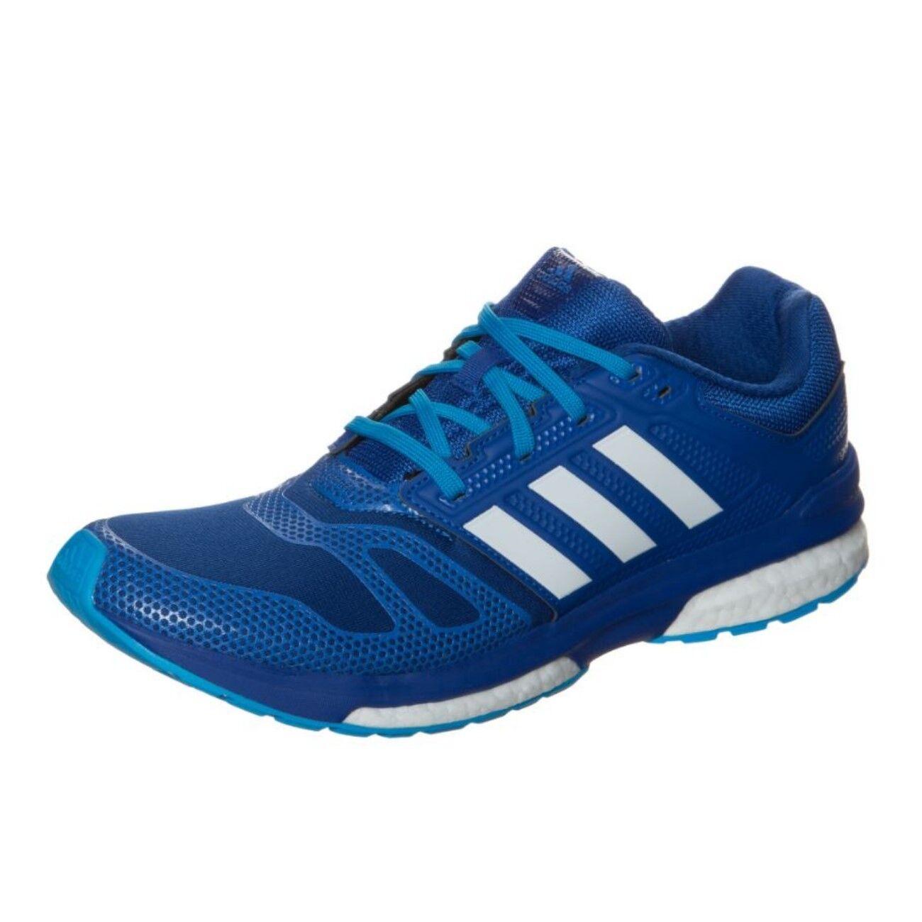 Adidas Schuhe Herren Laufschuhe Revenge Boost 2 M Techfit Runningschuhe blau