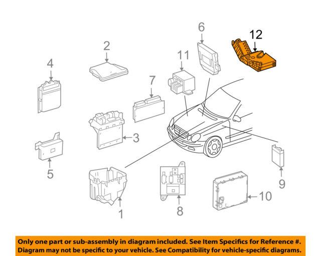 Mercede Cls500 Fuse Box Diagram