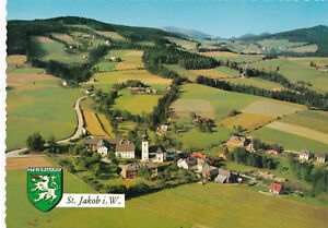 AK-aus-St-Jakob-im-Walde-Alpine-Luftbild-Steiermark-F21