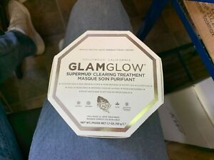 GLAMGLOW-Supermud-Clearing-Treatment-Mud-Mask-Size-1-7-Oz-50-g-New