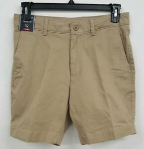 Roundtree /& Yorke Casuals Big Man LT Khaki Flat Men/'s Shorts NWT $35 Choose Size