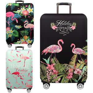 Flamingo-Luggage-Protective-Cover-Elastic-Suitcase-Travel-Case-Dust-Protector