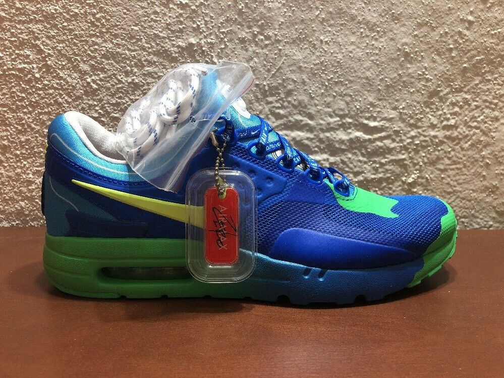 76fabaae942 Nike Air Max Zero DB Doernbecher Chase Hyper Cobalt 473 size 8 NEW Volt  898636 nytrqn1920-Athletic Shoes
