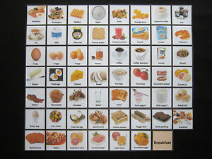 Breakfast-Cards-Autism-ADHD-PECS-Non-verbal-Early-Yrs-Visual-Aid-Dementia-EASL