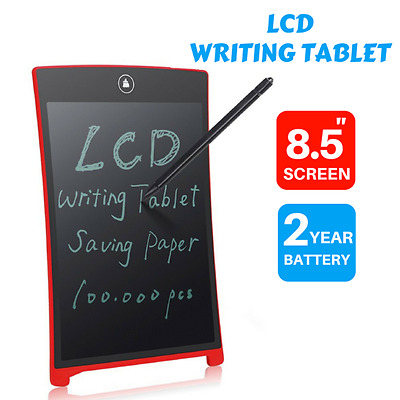 "8.5"" LCD eWriter Tablet Writting Drawing Pad Memo Message Boards"