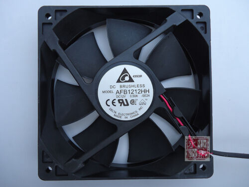 for Delta AFB1212HH 12cm DC 12V 0.5A DC power supply Axial Cooling Fan