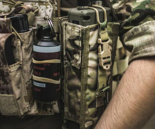 12 x Gummibänder zur Befestigung von Ausrüstung Devgru Navy Seal SAPI Tactical