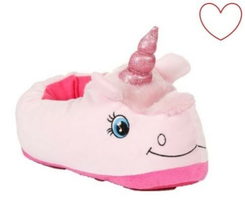 Ragazze Unicorn Pantofole Bambini 3D Gadget Scarpe Piede Copertura