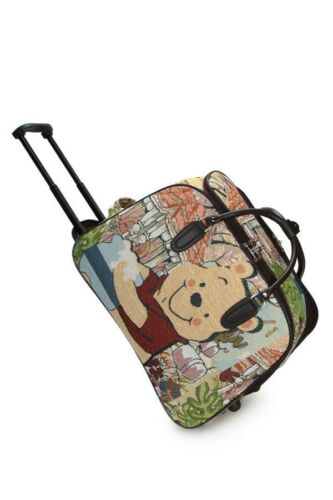 Vol Winnie l/'Ourson Vintage Cartable Trolley Sac De Voyage Case Bagage Main Taille