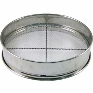 Stainless-steel-sieve-30cm-with-3-type-net-Bonsai-tool-Japan-Free-shipping