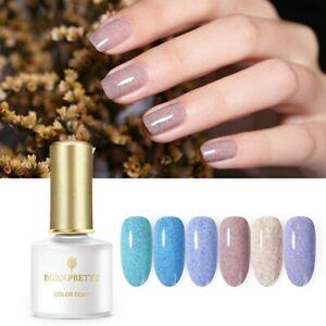 BORN-PRETTY-6ml-Foggy-Gellack-Blue-Purple-Soak-Off-Shimmer-UV-Gel-Nagel-Varnish