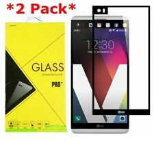 2-pack Full Cover Premium Tempered Glass Screen Protector for LG V20