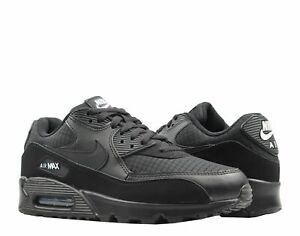 best cheap a0aa1 fd222 Image is loading Nike-Air-Max-90-Essential-Black-White-Men-