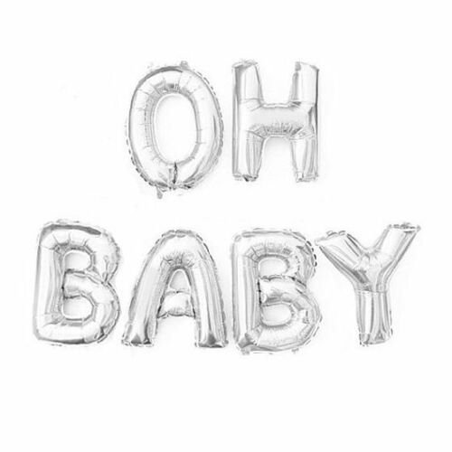 """16/"""" Lettres Ballons Message Personnalisé autogonflant Baby baloons Bride To Be"""