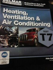 Details about ASE Test Study Guide Prep T7 Heating/AC 5th Ed