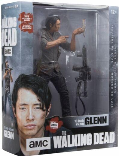 McFarlane - Walking Dead 10 inch Glenn Deluxe Figure - Brand New
