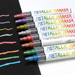 Graffiti-Liquid-Chalk-Highlighter-Marker-Pen-Set-Fluorescent-Neon-Metallic
