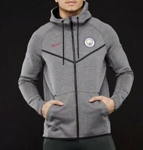 c555de35ce Image is loading Nike-Manchester-City-FC-Tech-Fleece-Windrunner-Jacket-