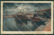 Gorizia Grado Porto cartolina VK0730