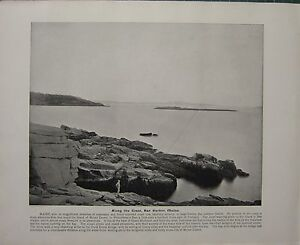 1898-PRINT-TEXT-ALONG-THE-COAST-BAR-HARBOR-MAINE