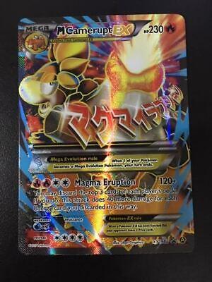 XY198a M Camerupt EX Pokemon XY Black Star Promo Full Art