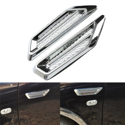 Car Sticker Mode Side Air Flow Vent Hole Cover Fender Intake Grille Decor 2017/_