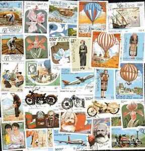 Laos-1000-sellos-diferentes-matasellados