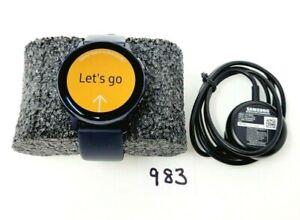 Samsung Galaxy Watch Active 2 SM-R830 40mm Aluminum Case Sport Band - Black