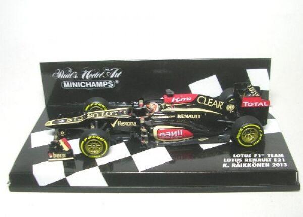 Lotus F1 team renault E21 No.7 K.räikkönen formula 1 2013