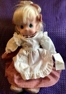 Precious-Moments-16-034-Collectible-Blonde-Haired-Doll-Patti