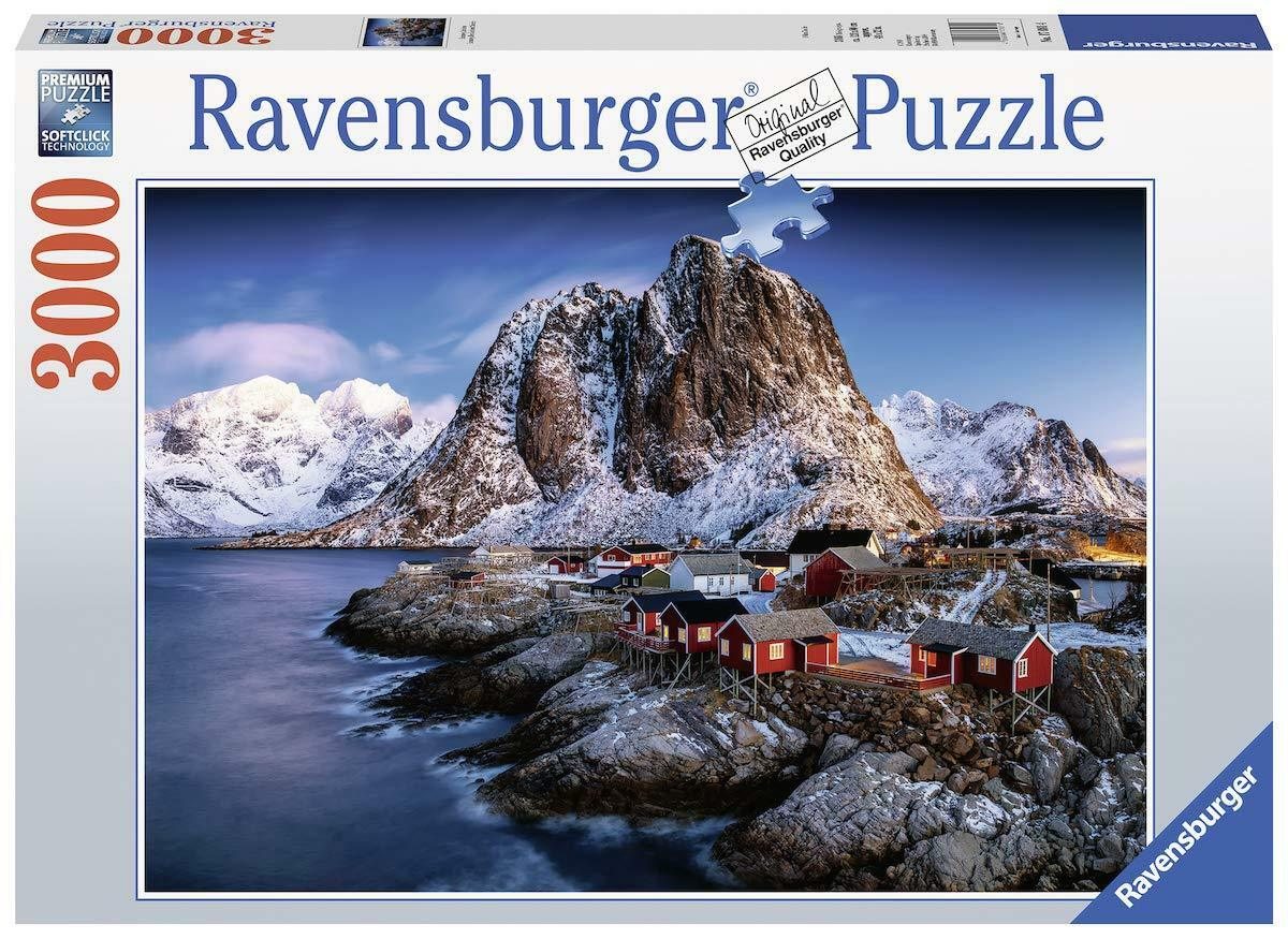 RAVENSBURGER PUZZLE3000 TEILEHAMNOY LOFOTENRARITÄTNEU+OVP  | Erste in seiner Klasse