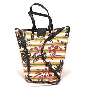 9882R borsa donna LIU JO KOS TROPICAL secchiello double bag hand bag woman