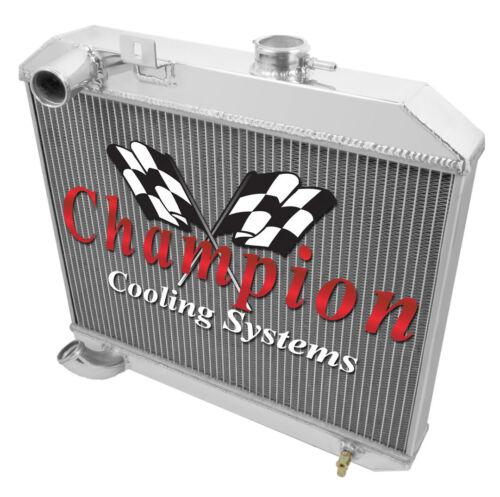1946 1947 1948 Willys Jeep CJ-2A Champion 3 Row Aluminum Radiator CC5241