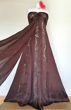 Majestic MONSOON UK14 *Josephine* panelled SILK Dress/Gown